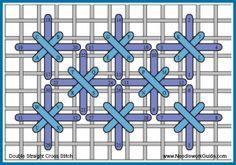 Double Straight Cross Stitch