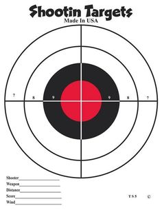 Images Paper Shooting Targets, Paper Targets, Revolver, Reactive Targets, Pistol Targets, Bow Target, Range Targets, American Heritage Girls, Shooting Accessories