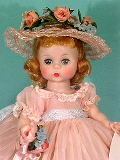 Forever In Bloom Doll - 7 Antique Dolls, Vintage Dolls, Forever My Girl, Vintage Madame Alexander Dolls, Green Gown, Doll Display, Vinyl Dolls, Toy Craft, Hello Dolly