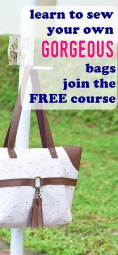 bag sewing patterns | tote patterns | free bag patterns | free purse patterns