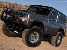 1969 Ford Bronco Left View