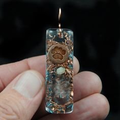 Orgonite Pendant .. Orgone Positive Energy Generator .. Life Force