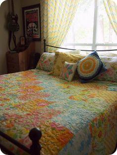 """Mammoth"" Vintage Sheet Quilt   Flickr - Photo Sharing!"