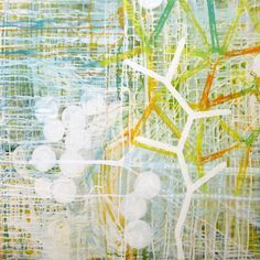 "Saatchi Online Artist: Carles Guitart; Mixed Media, 2011, Painting ""Plant 01"""