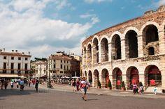 Arena nella Piazza Bra´ (Verona, Italy)