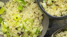Leicht und locker: Quinoa mit Lauch und Fenchel   http://eatsmarter.de/rezepte/quinoa-lauch