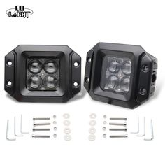 Cheap work light, Buy Quality light for directly from China flood beam Suppliers: CO LIGHT Headlamp Spot Flood Beam Flush Mount Pod Work Lights for Off Road Ford Jeep Car-Styling Led Work Light, Led Light Bars, Work Lights, Light Led, Jeep Cars, Auto Jeep, 4x4, China Lights, Work Lamp