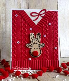 My Ugly Christmas Sweater... | Rambling Rose Studio | Billie Moan
