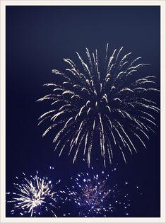 Bonfire parties need fireworks!