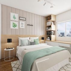 Ideas For Wallpaper Girly Bedroom Small Room Bedroom, Home Decor Bedroom, Bedroom Ideas, Room Interior, Interior Design Living Room, Bedroom Images, Dream Rooms, New Room, House Rooms