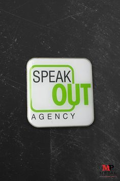 Lapel pins are a great way to market your business or agency! Check out this one we created for Speak Out Agency with their logo and colors. Check out more corporate pins we have created in the past on our website. Custom Coins, Free Artwork, Custom Metal, Lapel Pins, The Past, Website, Logo, Business, Colors