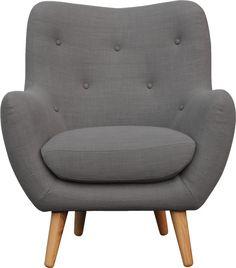 Design scandinave pour le fauteuil Breyton