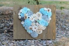 sola wood flower heart wood flower, diy craft For the love of flowers! Look at this heart! Sola Wood Flowers, Metal Flowers, Diy Flowers, Fabric Flowers, Flower Diy, Paper Flowers, Flower Ideas, Felt Crafts, Wood Crafts