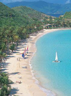 Peter Island Resort - we went here on honeymoon. Loooooved it.