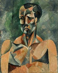 Picasso - Busto de Homem (O atleta). MASP (Museu de Arte de São Paulo Assis Chateaubriand), Brasil.