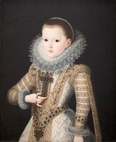 Infanta Isabella oil on canvas, 1569 by Alonso Sanchez Coello, 1564-1627, Spanish.
