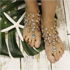 foot jewelry - baref