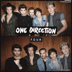 """O álbum """"Four"""" do One Direction é sucesso de vendas!"""