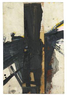 "colin-vian:  ""Franz Kline (1910-1962) Untitled, 1958  """