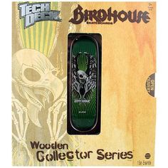 Tech Deck Wooden Collector Series [Tony Hawk - Birdhouse]