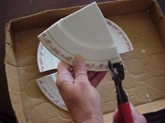 I have a few tips some of you may find useful if you want to convert your pretty vintage plates into pretty china tiles and focals Now, m...