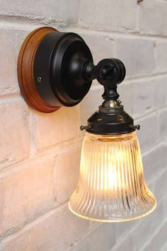 This Victoria batten wall light has an elegant style with their bell shaped Holophane glass shade and will add a touch of vintage nostalgia to any setting. Ceiling Rose, Kitchen Lighting, Bathroom Lighting, Batten, Glass Shades, Clear Glass, Wall Lights, Bulb, Victoria