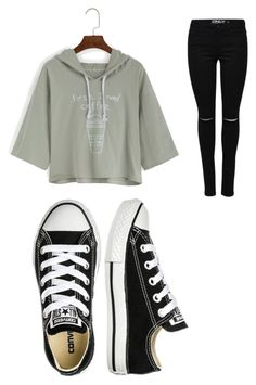 """""""Untitled #33"""" by boder on Polyvore featuring Converse"""