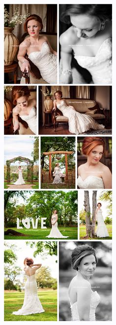 I absolutely love this bride! She's sweet, fun, playful.... and gorgeous! She has been such a blessing to work with. Can you believe how GORGEOUS her red hair is??? She has such great style on her wedding had a great vintage feel... I can't wait to share the wedding images soon! :)