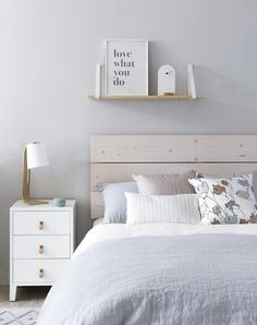 Girls Bedroom, Bedroom Decor, Dresser As Nightstand, New Room, Dorm Room, Room Inspiration, House Styles, Furniture, Home Decor