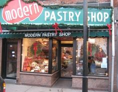 Modern Pastry in Boston's North End.