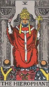 Tarot Card by Card - The Hierophant