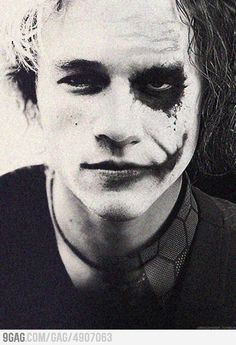 Heath Ledger & The Joker - whoever did this can go sit in the corner and think about the decision they made.