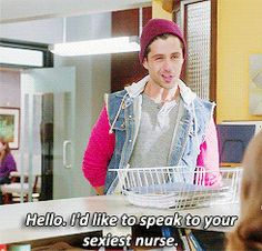 Oh my goodness Josh Peck as RayRon is one of the greatest things ever on The Mindy Project!!