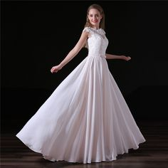Find More Wedding Dresses Information about Vestido De Noiva 2017 Beach Wedding Dress A line Lace Sexy Backless Floor Length Chiffon Bridal Gown Bride Dresses ,High Quality beach wedding dress,China bride dresses Suppliers, Cheap chiffon bridal gown from Shop1404230 Store on Aliexpress.com