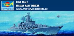 Russian Navy Moskvy Trumpeter 04518