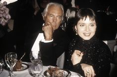 #Atribute to Events: Giorgio Armani with Isabella Rossellini. Read more on Armani.com/Atribute.