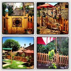 My garden gate/fence collage :)