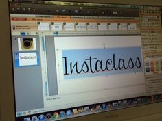 Instaclass signage Freebie from the Wild Rumpus. Making a social media-based bulletin board?