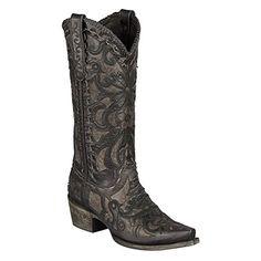Amazon.com   Lane Boots Women's Robin Western Boot   Mid-Calf