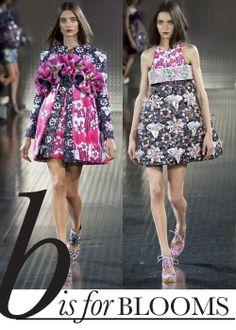 Spring 2014 fashion trend: Blooming florals - love these dresses 2014 Fashion Trends, 2014 Trends, Trending Fashion, Spring Summer Trends, Spring 2014, Summer 2014, Fashion Seasons, Fashion Plates, Fashion Forward