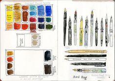 Sketching Tools July 2016   Kay French   Flickr
