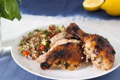 Lemon-Basil Roast Chicken: Everyone needs a go-to roast chicken recipe, and this simple, flavorful version is packed with protein and cancer-fighting...