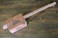 Hand Made Cigar Box Guitar