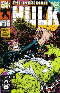 Incredible Hulk # 385 by Dale Keown