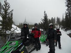 Snowmobile Trips in Jackson Hole, Wyoming (Yellowstone) and visit nearby Grand Teton National Park