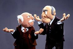 My husband and one of our friends in corps school used to hang out of the fourth floor barracks window like Statler and Waldorf and heckle the people on the smoking deck