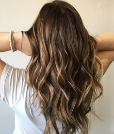 Golden brown highlights