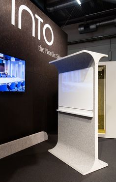 STORY WALL is a classic space divider re-invented. It comes with felt to make it acoustic and sound-friendly. Space Dividers, Wall Spaces, Office Interiors, Acoustic, Inventions, Classic, Furniture, Derby, Home Furniture