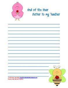 Thank you letter to parents  school ideas  Pinterest  Parents