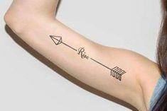 Dainty Tattoos, Feminine Tattoos, Trendy Tattoos, Tattoos For Women, Funky Tattoos, Small Tattoos, Arrow Tattoos, Foot Tattoos, Finger Tattoos